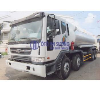Xe bồn chở xăng dầu 22 khối Daewoo