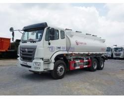 Xe bồn chở xăng dầu 17 khối  Hohan
