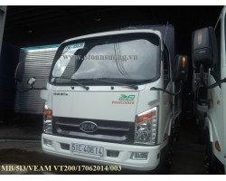 VEAM VT200 2T MUI BẠT 5 BỬNG