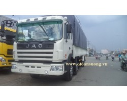 THÙNG MUI BẠT XE JAC 6X2 8T HFC1255KR1