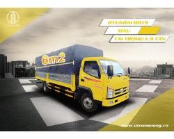 Xe tải thùng 6m2