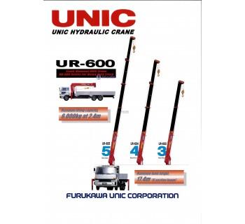 CẨU UNIC 6T UR600 2M4