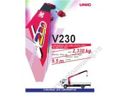 CẨU UNIC V230 2330KG