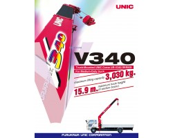 CẨU UNIC V340 3030KG