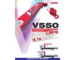 CẨU UNIC V550 5T