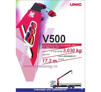 CẨU UNIC V500 3T