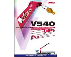 CẨU UNIC V540 4T